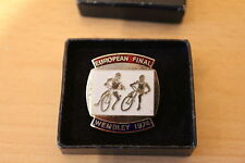 SPEEDWAY EUROPEAN FINAL WEMBLEY 1974 MEDAL (or badge) IN PRESENTATION BOX
