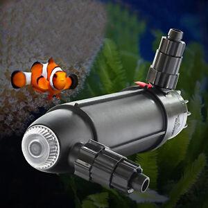 Genuine Coralife Turbo-Twist 3X  9W UV Sterilizer Light Marine, Fresh Fish Tank