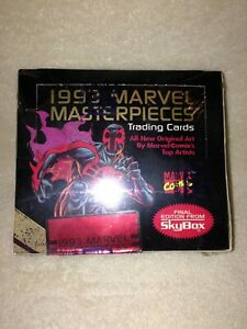 Marvel Masterpieces 1993 Trading Cards Box - Skybox - Factory sealed