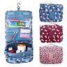 1x Ladies Wash Bag Hanging Toiletry Cosmetic Travel MakeUp Folding Organizer UK