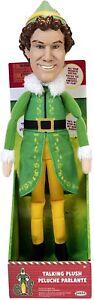"Jakks Holiday Elf Talking Plush with 15 Phrases 12"" Plush Interactive Toy - New"