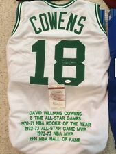 Dave Cowens Autographed Boston Celtics Custom STAT Jersey JSA Witnessed COA f64376009