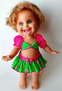 Galoob 1990 So Funny Natalie Baby Face Doll #5 original clothes, no shoes