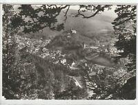 Ansichtskarte Schwarzburg - Blick vom Trippstein - schwarz/weiß