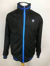 BMW Mens Reversible Zip Jacket, Chest 48, Blue/Black, Good Cond D85