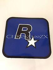 """Grand Theft Auto V 5 Rockstar Games LOGO Sticker Decal Blue 3"""" x 3 1/16"""""""