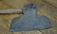 L201- Antique Broad Hewing Axe 8 lb 1 oz