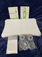 Nintendo Wii Balance Board RVL-021 with Wii Fit & Wii Fit Plus games