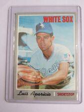 1970 topps #315 LUIS APARICIO chicago white sox BC#32 TN
