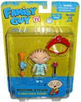 Griffin Figure Action Stewie Bed Time 7cm Mezco Family Guy New Figure New