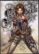 Jamie Tyndall Art Sketch Book 5 Zenescope Harley Quinn Wonder Woman Mary Jane