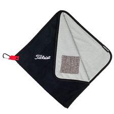 "Titleist Golf 2019 StaDry Performance Towel 17"" x 17"" COLOR: Black  TA9SDPTWL"