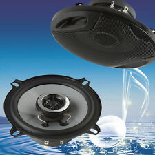 """4ohm 5"""" 400W Car Auto Door Sub Woofer Coaxial Audio Music Stereo Speakers Horn"""