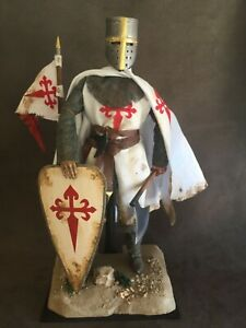 "CUSTOM 12"" KNIGHT OF THE ORDER OF SANTIAGO FIGURE 1/6 SCALE."