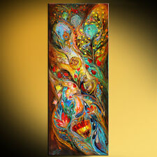 The Patriarchs series - Psalm of David judaica symbolism art by Elena Kotliarker