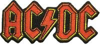 "AC/DC AUFBÜGLER / EMBROIDERY PATCH # 29 ""LOGO"""