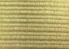 Wallpaper Double Roll VINTAGE NATURAL DOUBLE THICK Grasscloth Tan & Beige.