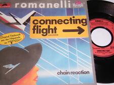 "7"" - Romanelli Connecting Flight & Chain reaction - 1985 # 4468"