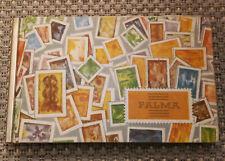 DDR PALMA Briefmarken-Album klein 23x14x1,6cm, Leinen-Einband, Metallrücken gut!