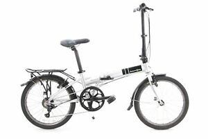 USED Dahon Mariner D7 Folding Bike Aluminum 20 Inch Wheels Rear Rack