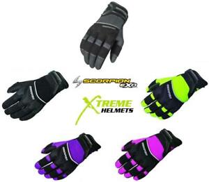 Scorpion Cool Hand II Womens Glove Breathable Ventilated Pre-curved Finger XS-XL