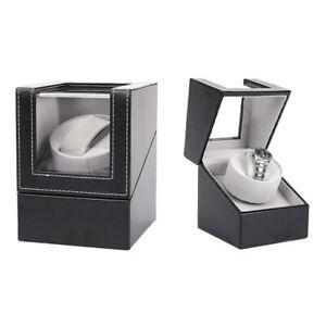 Automatic Single Watch Winder Leather Wathch Display Box Wristwatch Storage Case