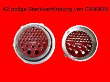 Sammeln & Seltenes CANNON Steckverbinder 42 polig Technik & Geräte Sonstige Funk