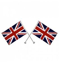 2 x Union Jack Window Car Flags United Kingdom Great Britain With Free Delivery