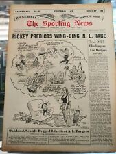 1965 The Sporting News Branch Rickey Article Baseball on Cover