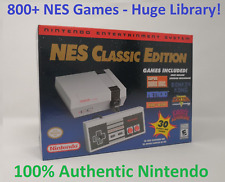 New! 800+ Games Nintendo NES Classic Mini US Console Modded