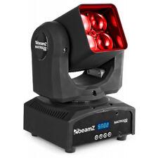 Beamz Matrix22Z DEL Kopf mobil mit Zoom mit Fernbedienung