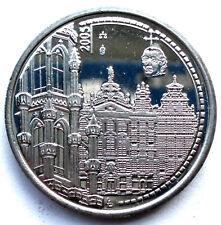 UNESCO WORLD HERITAGE 2005 Belgium Brussels Medal 30mm 12g Alpaca. O9.4