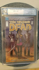 Image Comics,The Walking Dead #19, PGX 9.2, White Pages,1st appearance Michonne