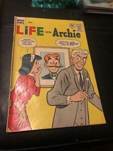 LIFE WITH ARCHIE #23 1963! Betty, Veronica, Jughead! Great Cover VG 4.0 Comics