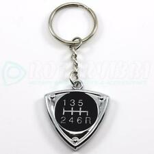 RX-8 6 SPEED BLACK - ROTOR KEYCHAIN 13B RX8 RENESIS ROTARY ENGINE 20B
