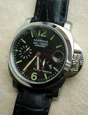 Armbanduhr Marina Militare Edelstahl Automatik Gangreserve-Anzeige - ungetragen