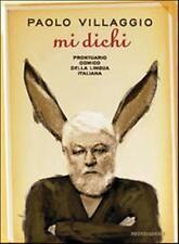VILLAGGIO MI DICHI Prontuario comico Lingua italiana 1°ediz. MONDADORI 2011