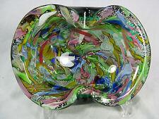 "Stunning Dino Martens ""Tutti Frutti""  ""rest of the day"" Murano glass bowl Schale"