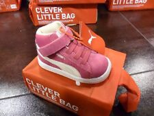 NR 34,5 PUMA SUEDE MD ALTE STIVALETTO LITTLE BOOT BAMBINA GIRL JUNIOR 350454-01