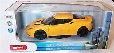 Lotus Evora S in Yellow 1-24 Scale Diecast Model New