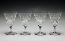 4pc Baccarat Water Goblets Glasses in Buckingham  pattern.