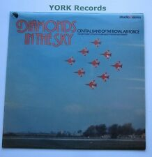 CENTRAL BAND OF THE ROYAL AIR FORCE - Diamonds In The Sky - Ex Con LP Record EMI