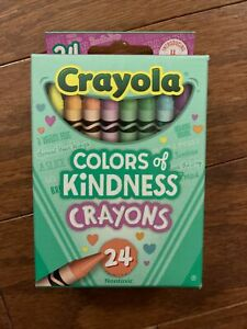 Crayola COLORS OF KINDNESS 24 Pack of Crayons 2021 NEWEST COLORS.