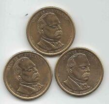 (1 coin) 2012-D 24th President  Grover Cleveland   Dollar.