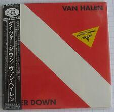 Van HALEN-Diver Down Remastered JAPAN MINI LP CD OBI NUOVO! WPCR - 12869