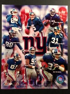 2001 NEW YORK GIANTS Team Composite 8x10 Photo