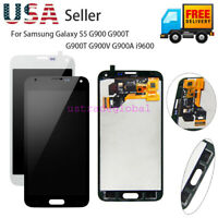 LCD Touch Screen Digitizer For Samsung Galaxy S5 G900 G900T/V i9600 Replacement