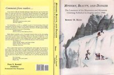 Mountaineering: Robert Bates, Mystery, Beauty, and Danger, 1st, Hc, New, Unread