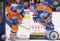 15-16 Upper Deck Ryan Nugent-Hopkins /100 UD Exclusives Oilers 2015