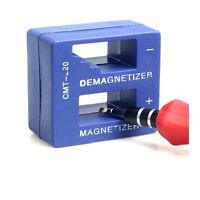 Imantador Magnetizador Desmagnetizador Desimantador para Imantar Desimantar Azul